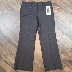 Maurice gray polished slacks